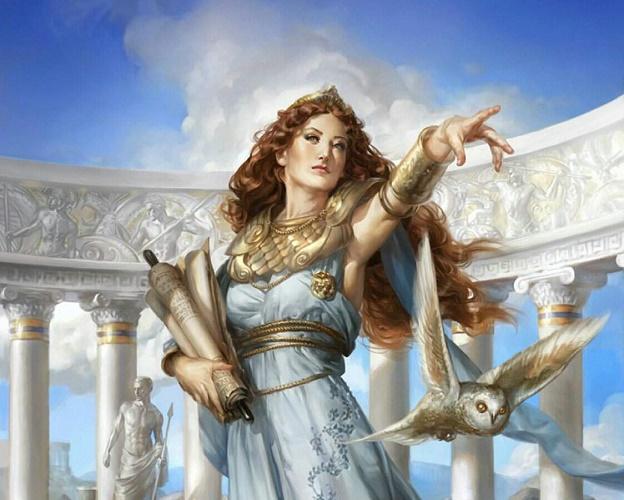 Афина богиня мудрости
