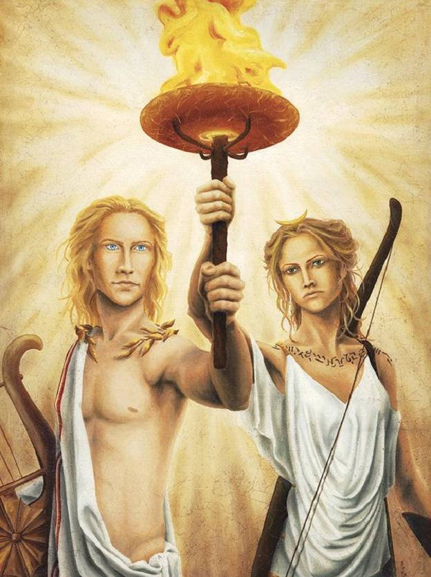 Апполон и Артемида были близнецами