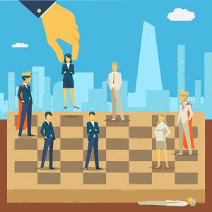 Люди шахматы-пешки