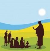 Учитель йоги и ученики